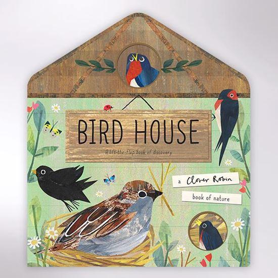 Bird house children's board book