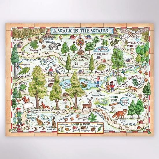 Woodland Trust - A Walk in the Woods jigsaw