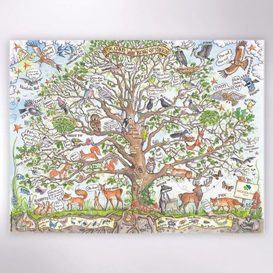Woodland trust - The Great Oak jigsaw