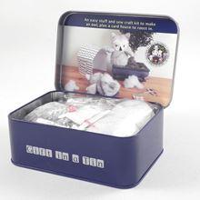 Sew-me-up owl gift tin