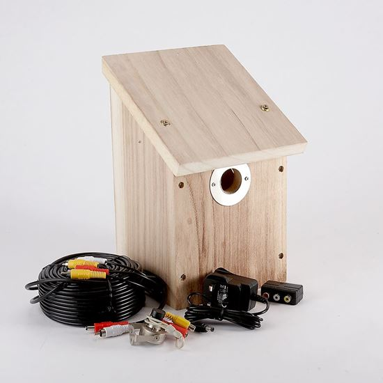 Colour and infrared camera and nest box