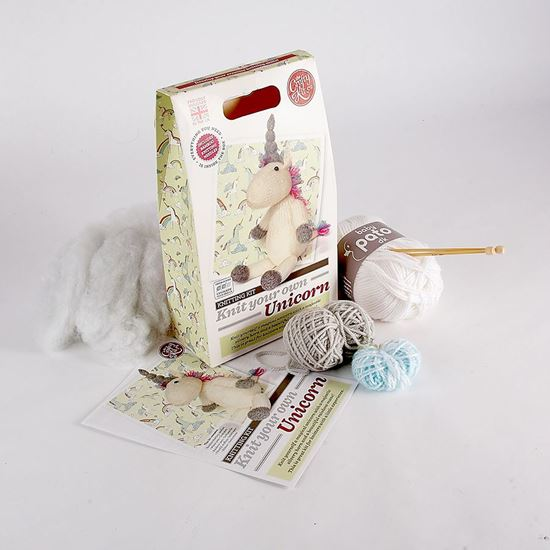 Knit-your-own unicorn kit
