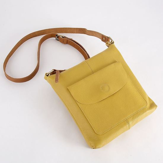 Wildflower leather bag