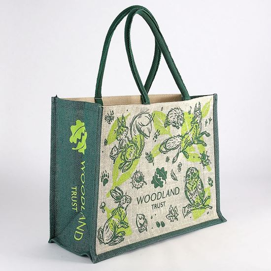 Woodland Trust shopping bag - creatures
