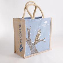 Woodland Trust small shopper bag - owl