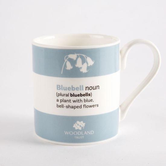 Woodland Trust mug - bluebell