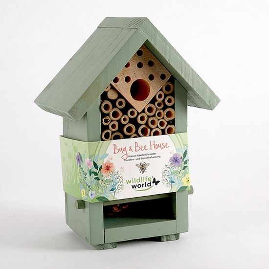 Bug and bee house - floral wrap