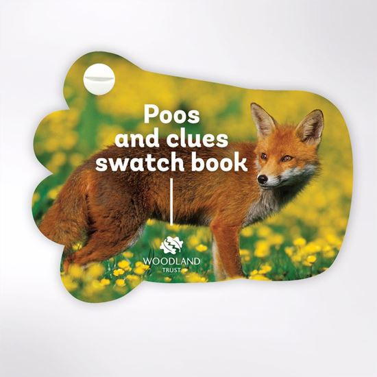 Woodland Trust  swatch book - poos and clues