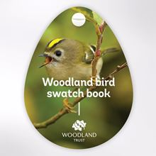 Woodland Trust swatch book - birds