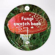 Woodland Trust swatch book - Fungi