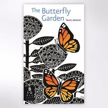 The Butterfly Garden lift-the-flap book by Laura Weston.