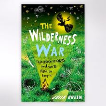The Wilderness War children's book by Julia Green.