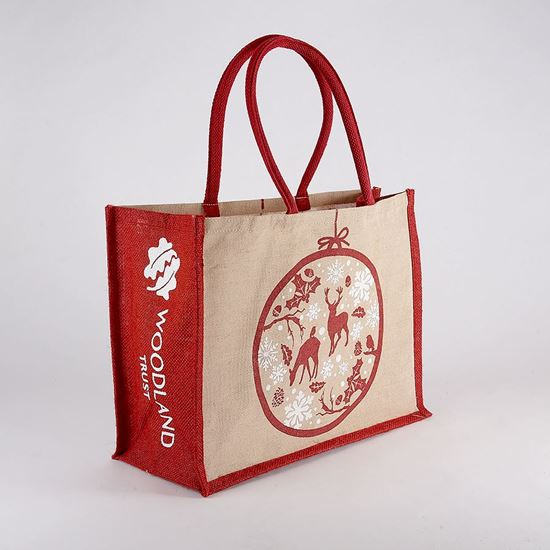 Woodland Trust shopping bag - Christmas bauble