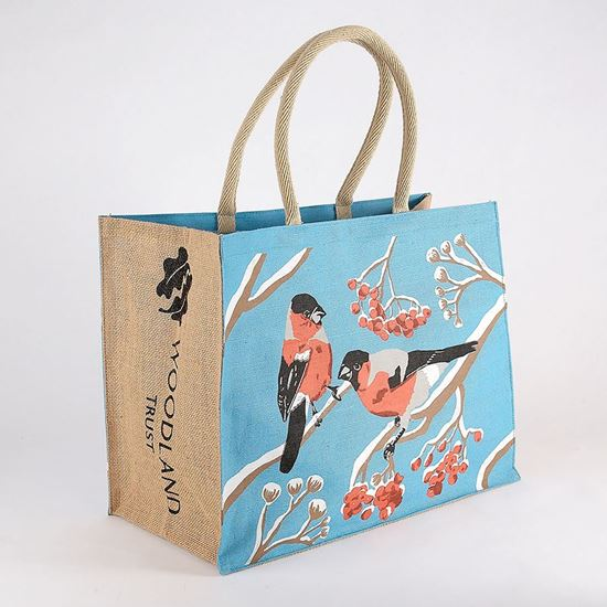 Woodland Trust shopping bag - birds