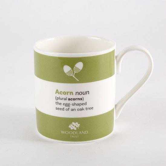 Woodland Trust mug - acorn