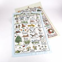 Woodland Trust tea towels - twin pack