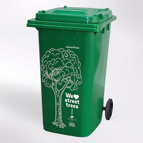 Woodland Trust - Street Trees wheelie bin sticker
