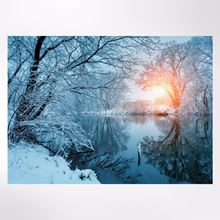 Calm Waters Christmas cards pack of 8