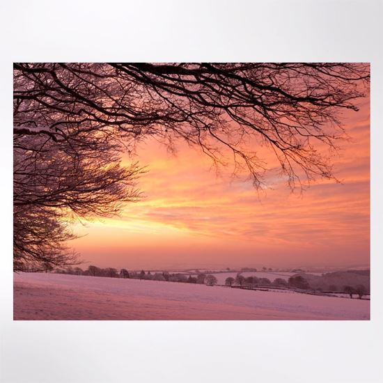 Red Skies Christmas cards pack of 8