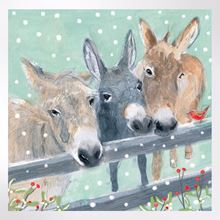 Winter Friends Christmas cards pack of 8