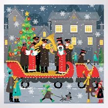 Christmas Float Christmas cards pack of 8