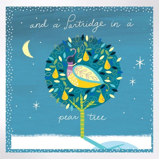 And a Partridge in a Pear Tree Christmas cards pack of 8