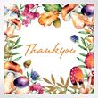 Foliage thank you cards 1