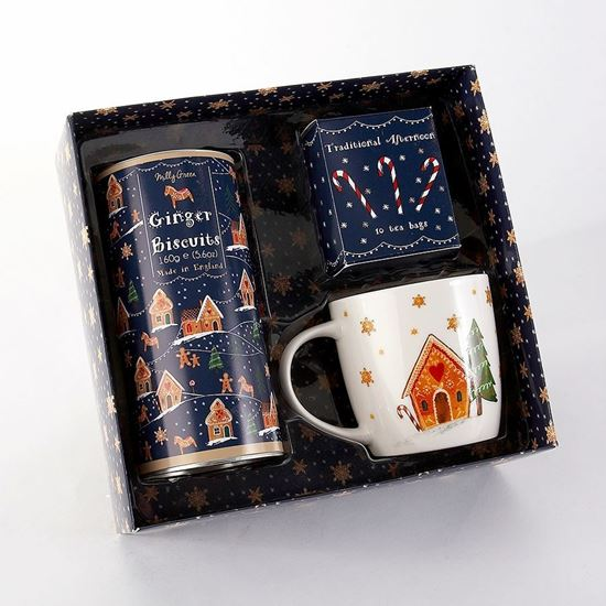 Milly Green Gingerbread Tea Time Gift Set boxed