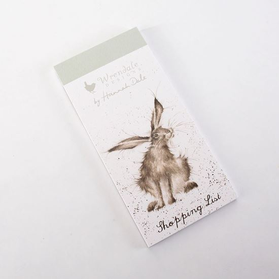 Wrendale Designs 'Hare Raising' Magnetic Shopping Pad