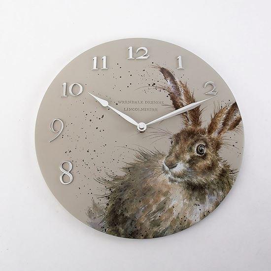 Wrendale Designs Hare Clock