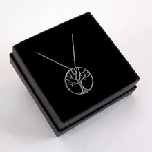 Winter Tree of Life Necklace