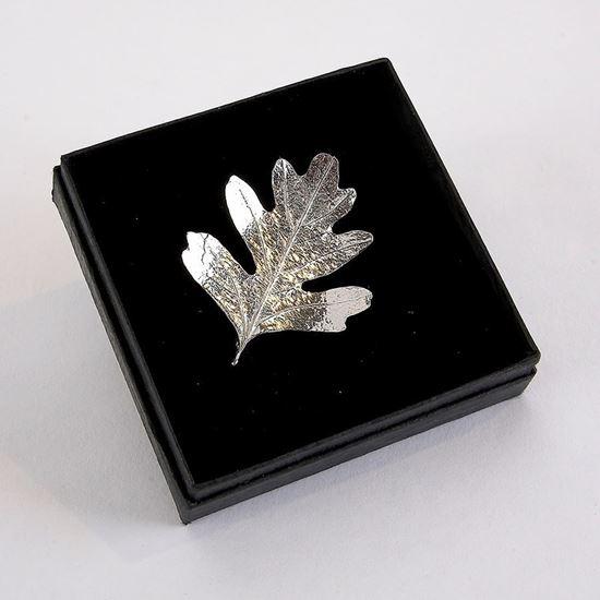Hawthorn Leaf Brooch
