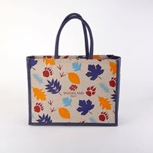 Woodland Trust juco shopping bag - paws and prints