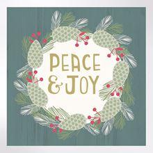 Peace and Joy Christmas cards