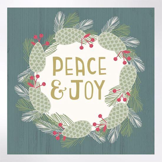 Christmas Notecards.Peace And Joy Christmas Cards