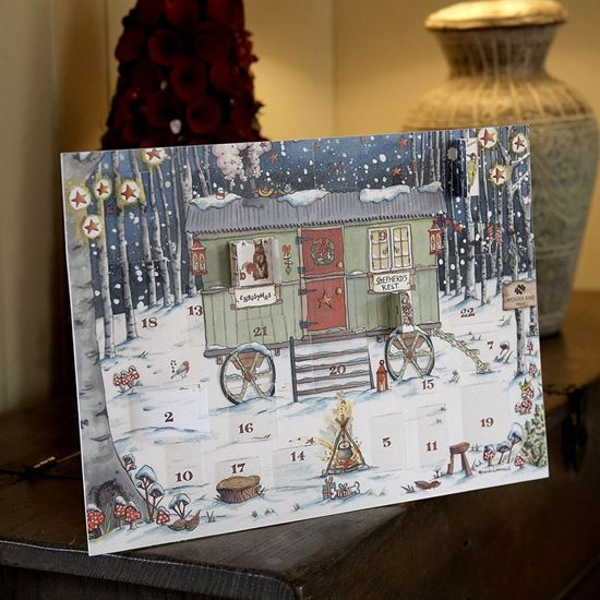 Woodland Trust Shepherd's Hut Advent Calendar