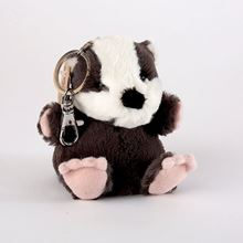 Picture of Milton the badger keyring