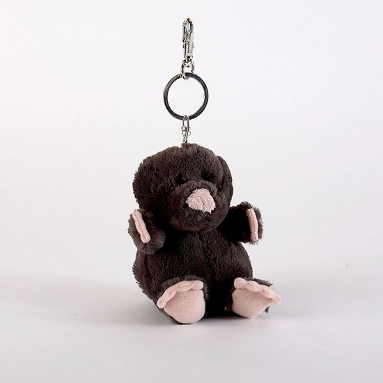 Picture of Florence the mole keyring