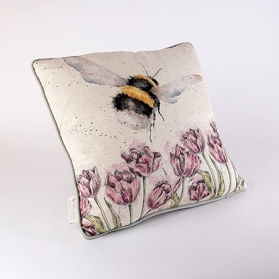 Picture of Flight of the bumblebee cushion