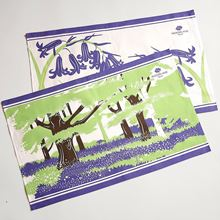 Picture of Woodland Trust bluebell twin pack tea towels