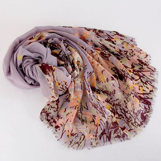Picture of Wildflower and hare scarf