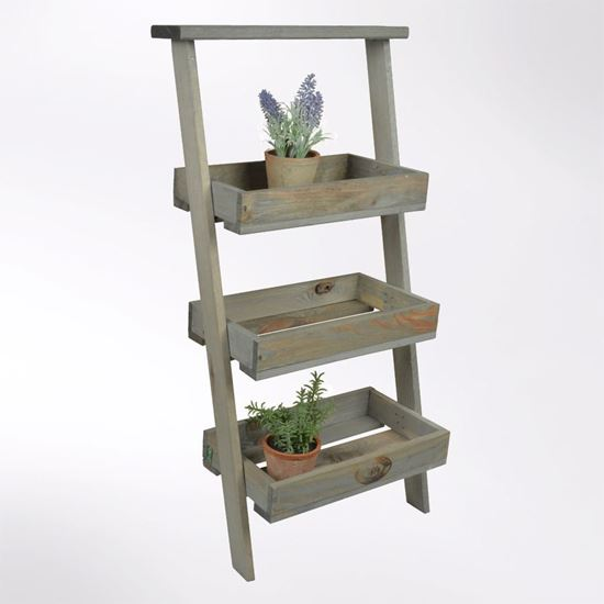 Picture of Lean to stepped ladder