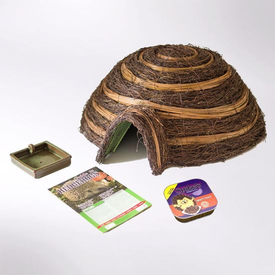Picture of Hedgehog house care pack