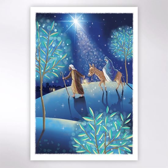 Picture of Journey by moonlight Christmas cards