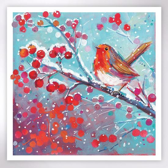 Picture of Christmas Robin Christmas cards