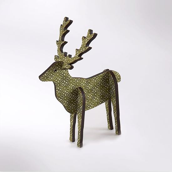 Picture of 3D standing stag