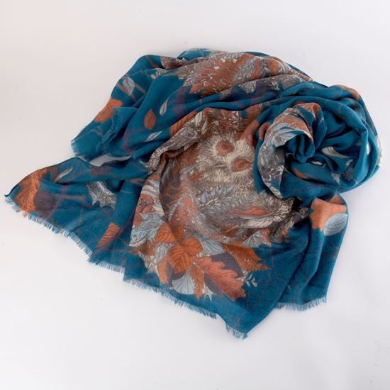 Picture of Large owl scarf