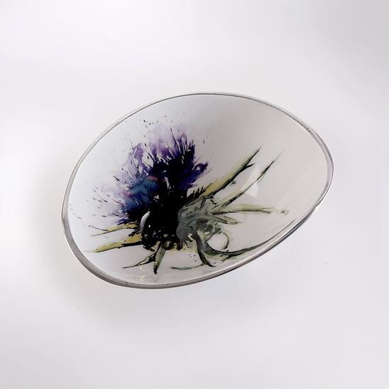 Picture of Thistle oval bowl