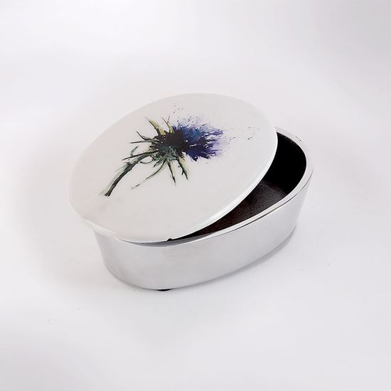 Picture of Thistle trinket box