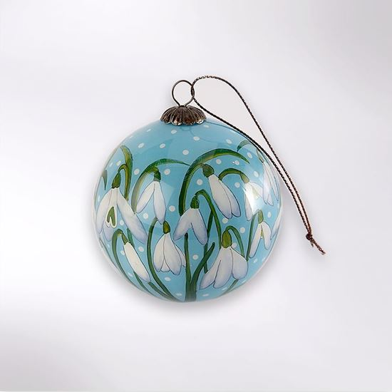 Picture of Woodland Trust snowdrop bauble